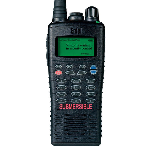 Entel - HT726/786 Portable Radio with Full Keypad