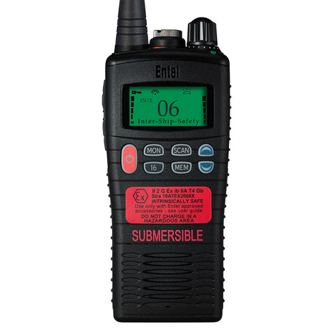 Entel - HT844 ATEX Marine Band Portable Radio with LCD Screen