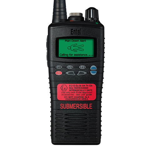 Entel - HT825/885 ATEX Portable Radio with Advanced Signalling