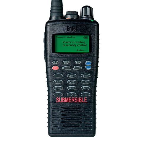 Entel - HT826/886 ATEX Portable Radio with Full Keypad