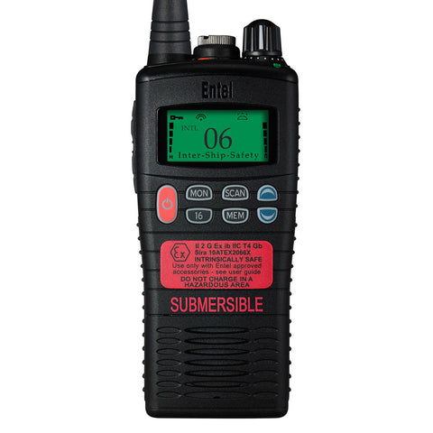 Entel - HT944 ATEX Marine Band Portable Radio with LCD Screen