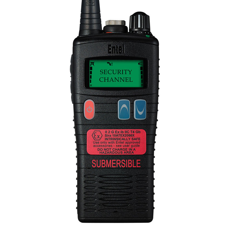 Entel - HT953 ATEX PMR446 Portable Radio with LCD Screen