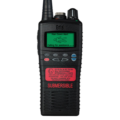 Entel - HT925/985 ATEX Portable Radio with Advanced Signalling