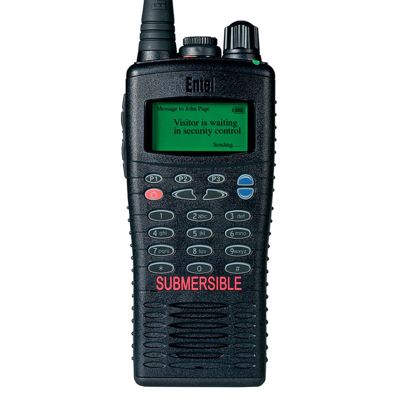 Entel - HT926/986 ATEX Portable Radio with Full Keypad