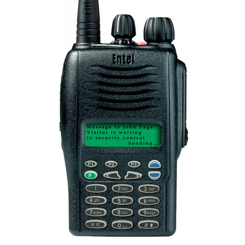 Entel - HX426/486 Portable Radio with Full Keypad