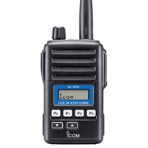 Icom - IC-F51 / F61 ATEX Licensed Portable Radio (Thumbnail Image)