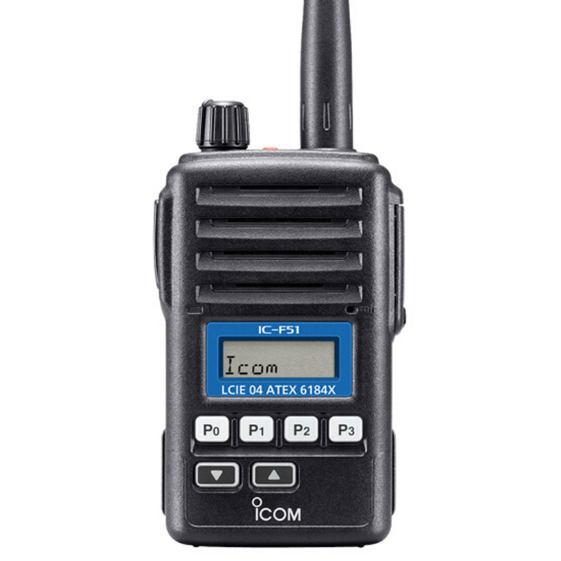 Icom - IC-F51 / F61 ATEX Licensed Portable Radio