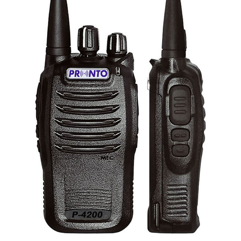 Pronto - P-4100/4200 Licensed Analogue Radio