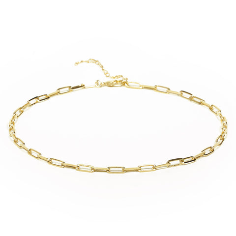 Colar Chocker corrente Cartier