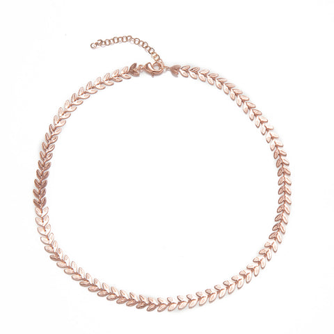 COLAR ROSE CHOCKER ESCAMAS LISA