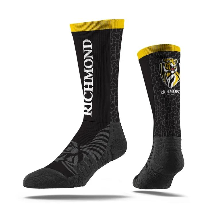 RICHMOND TIGERS - PREMIUM FULL SUB TEAM SOCK