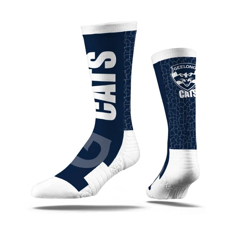 GEELONG CATS - PREMIUM FULL SUB TEAM SOCK