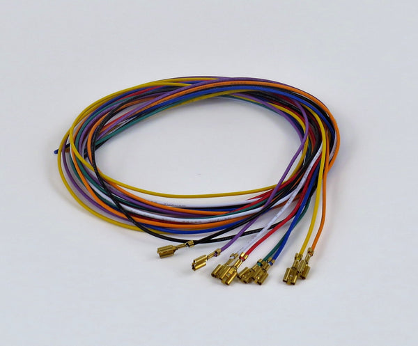 1 meter hookup wire with .187 connector