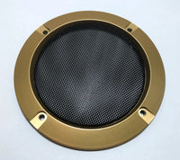 4 Inch Gold Speaker Grill