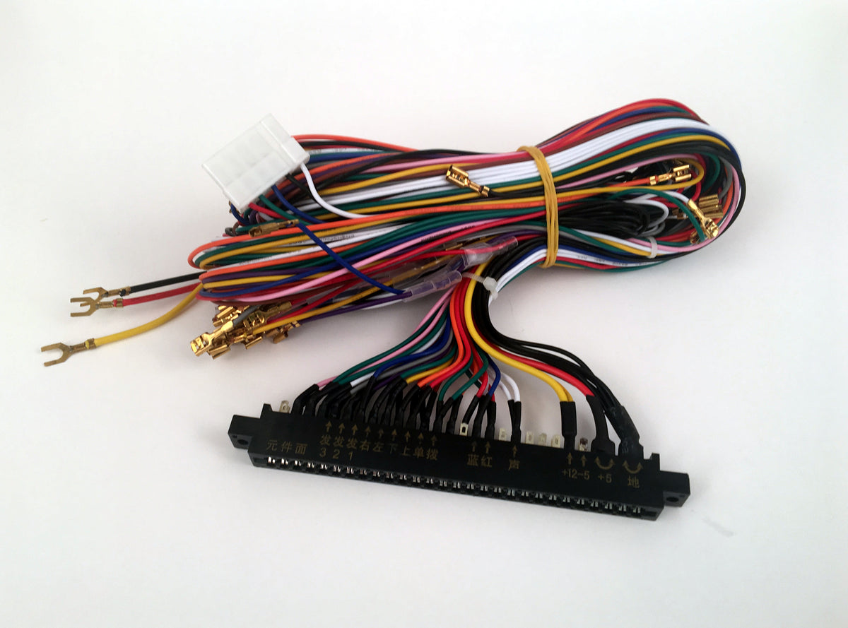 Jamma Harness Canadian Arcade Builders Supply Wiring Power