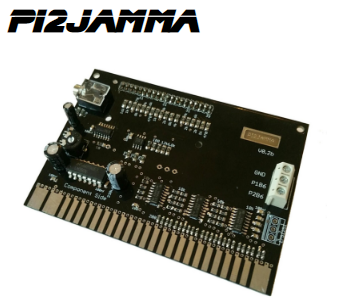 Pi2Jamma PCB - Run your Raspberry Pi in your Jamma Cabinet