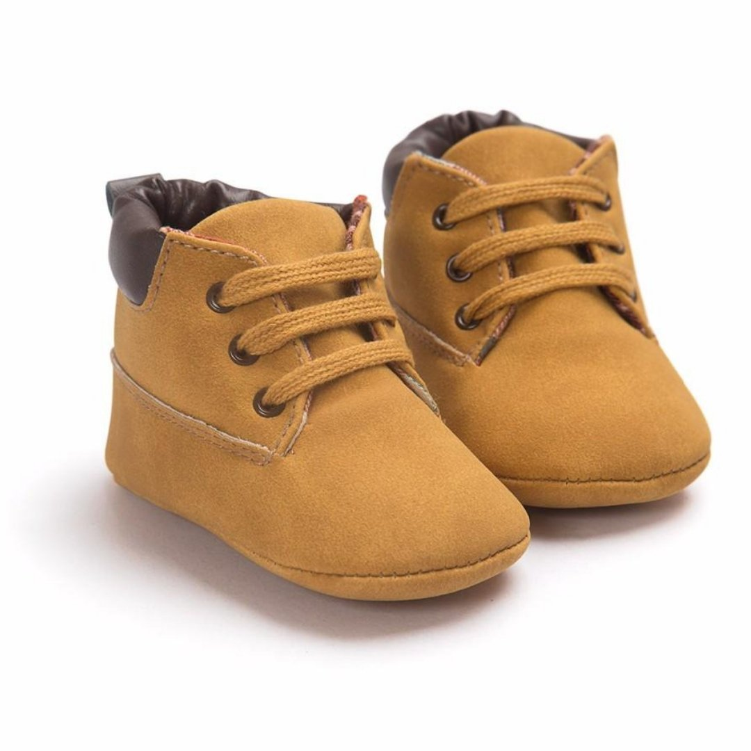 Suede Baby Boots | Shoes - Lulu Babe
