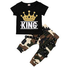 King Camo Harem Set | Baby Boy Clothes - Lulu Babe