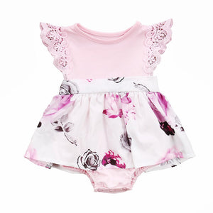 Matching Sisters Frill Romper or Dress | Baby Girl Clothes - Lulu Babe