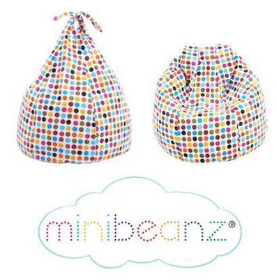 Mini Beanz® Polka Dot Bean Bag for Tweens | Nursery - Lulu Babe