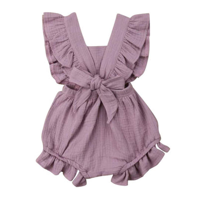 Willow Ruffle Romper | Clothing - Lulu Babe