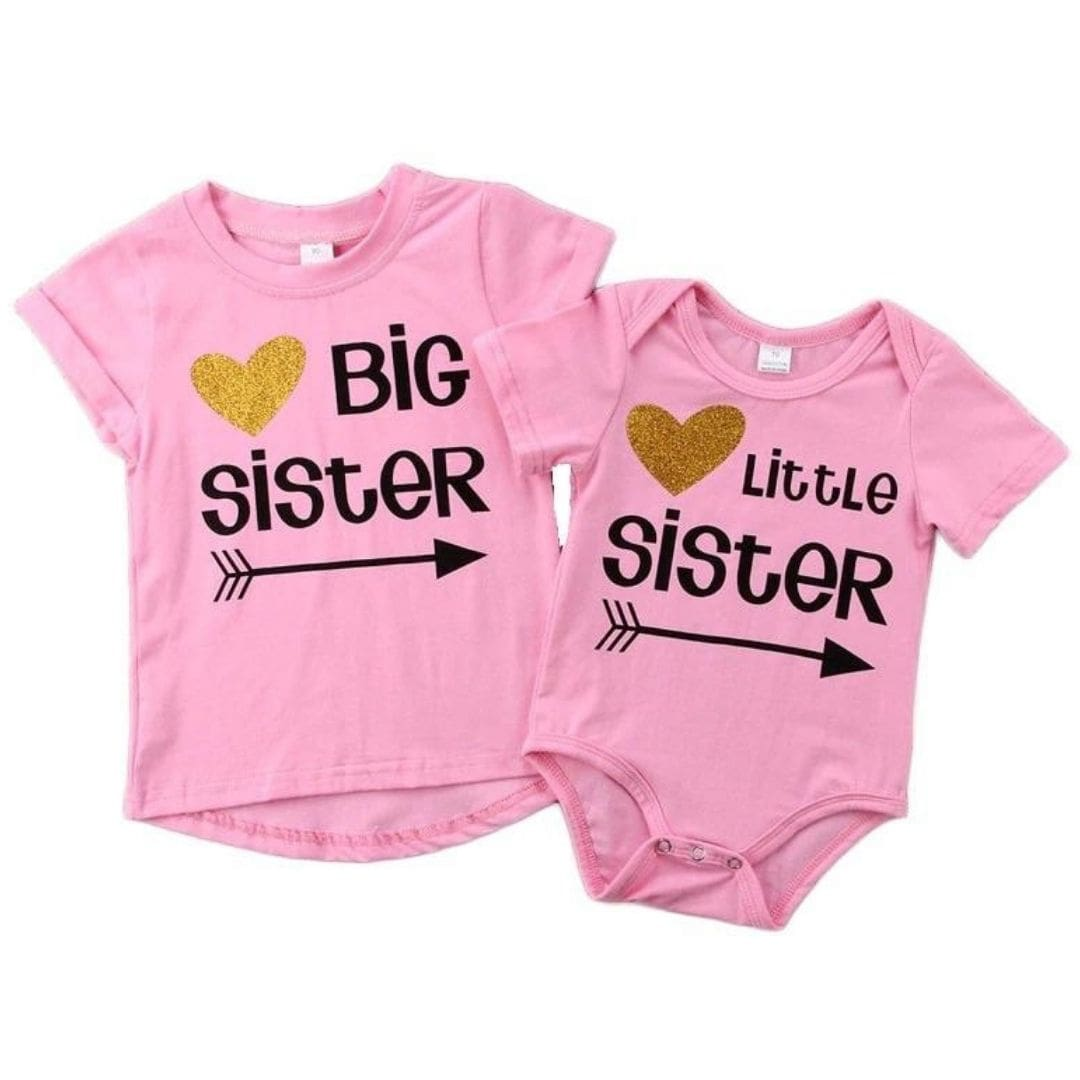 Matching Big Sister And Little Sister Outfits