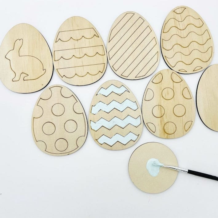 Easter Egg Paint Kit |  - Timber Tinkers