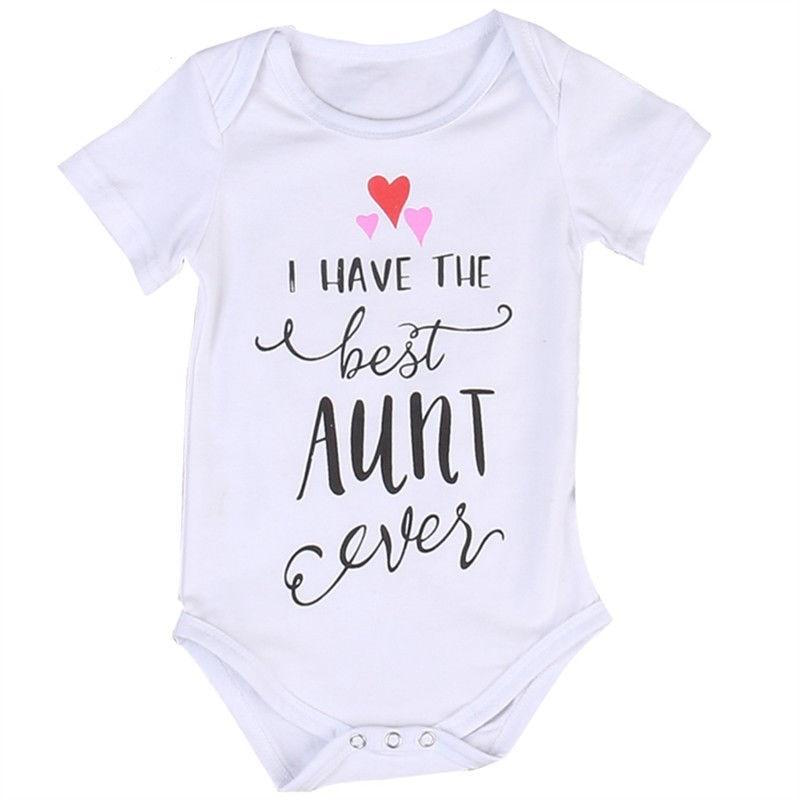 I Have The Best Aunt Ever Romper | Clothing - Lulu Babe