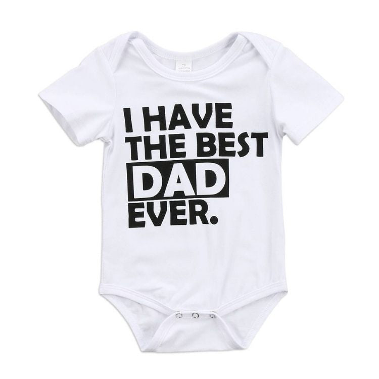 I Have The Best Dad Ever Romper