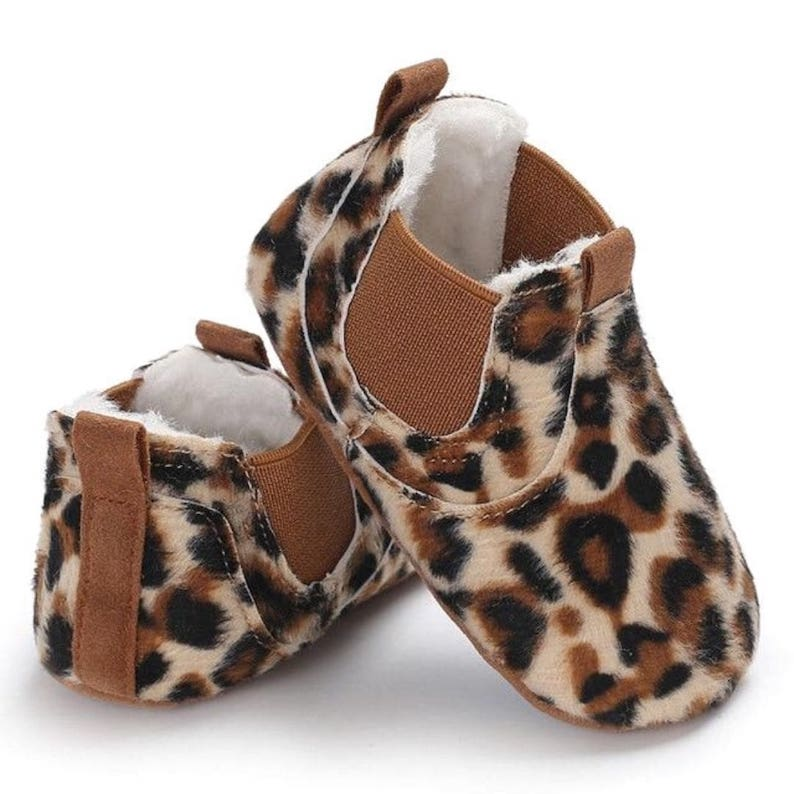 Leopard Baby Moccasins | Shoes - Lulu Babe