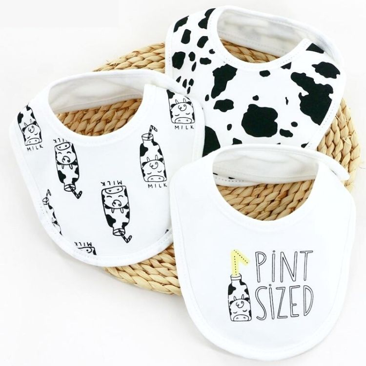 Pint Sized Baby Bibs 3 Pack