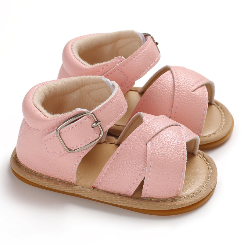 Kay Baby Sandals Pink | Shoes - Lulu Babe
