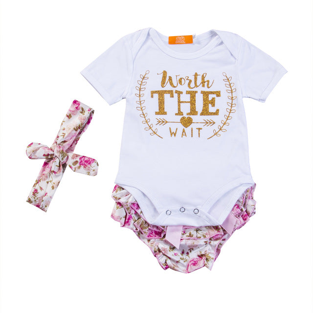 Worth the Wait Romper Set