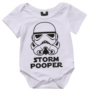 Storm Pooper Romper | Unisex Baby Clothes - Lulu Babe