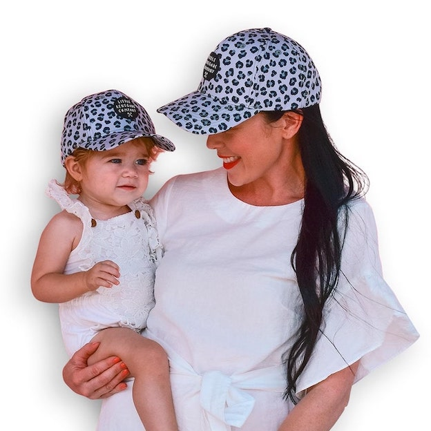 Snow Leopard Baseball Cap | Accessories - Little Renegade Company