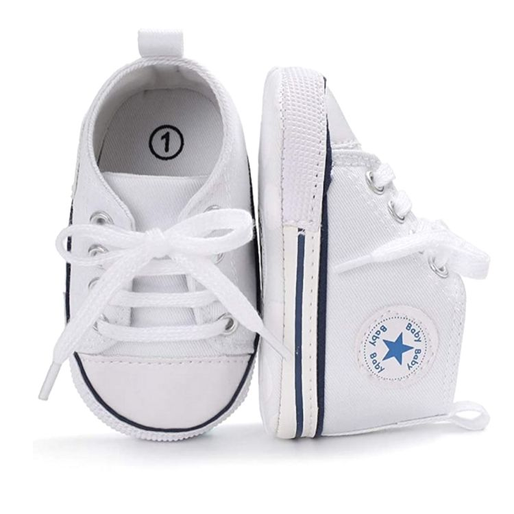 Star Kicks White | Shoes - Lulu Babe