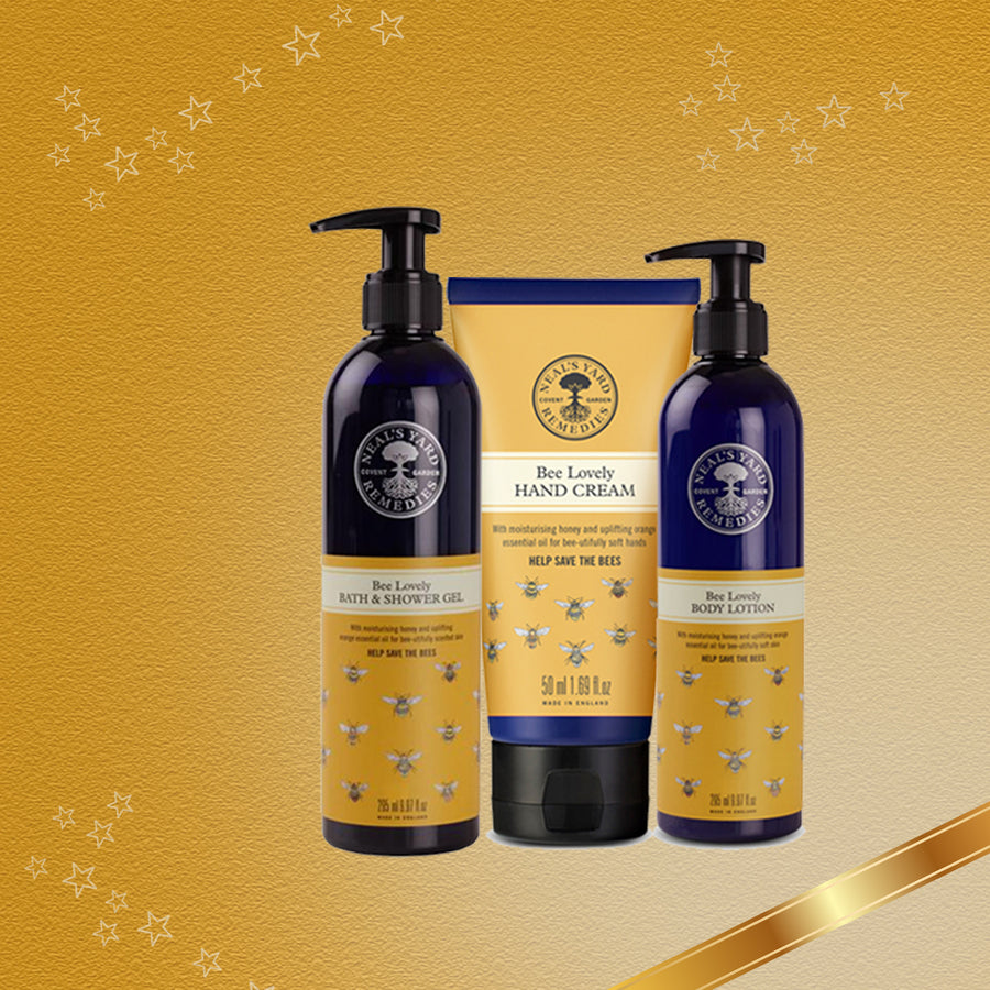 Nourish & Uplift Bee Lovely Hand & Body Collection