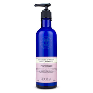 Geranium & Orange Body Lotion