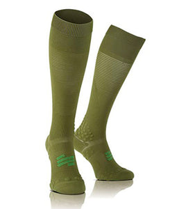 Under Control Full Socks Olive-green