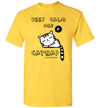 Keep Calm and Catnap - Men's T-Shirt