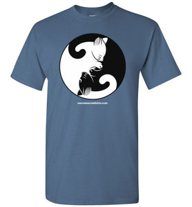 Yin Yang Cats - Men's T-Shirt
