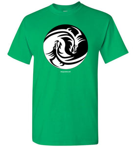 Yin Yang Dragons - Men's T-Shirt