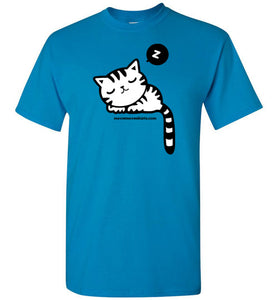 Sleepy Cat - Men's T-Shirt