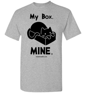 Cat in Box - Light - Men's T-Shirt