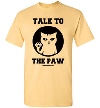 Talk to the Hand Paw - Men's T-Shirt