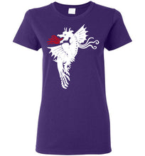 Fire Dragon - Dark - Women's T-Shirt