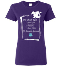 Dragon Spell - Women's T-Shirt