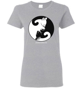 Yin Yang Cats - Women's T-Shirt