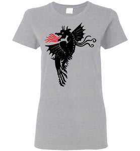 Fire Dragon - Light - Women's T-Shirt