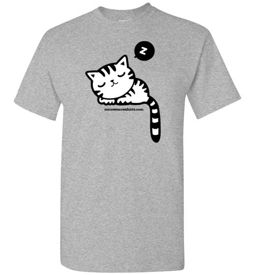 sleepy_cat_t_shirt